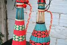 Plastic lace crafts