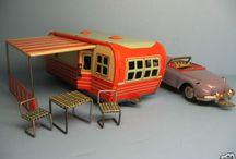 vintage toy trailers