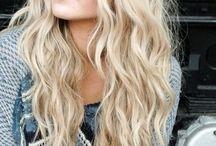 Hair <3 / Hair, hairstyles, beach waves, hair goals