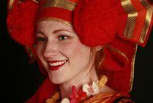 Tradition Russian costume