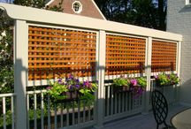 Privacy screen ideas
