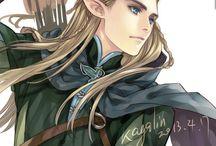Elfos y LOTR