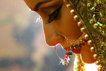 The Bride of India - By The Indian Weave / The bride - Dressed up on her wedding day in all her glory, finery, beauty , jewellery awaiting for the most important moment of her life - Her wedding !