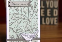 Stampin' Up! - Vellum cards / Made with vellum paper