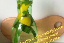 water met smaak