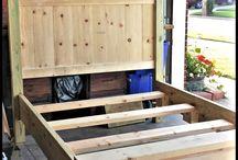 pat din lemn