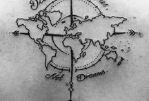 Ink your travels / Tattoos are forever, as are the urge to travel!