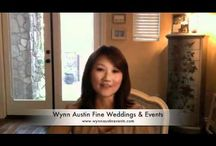 Videos of Wynn Austin Events-Southern California Wedding Planner / videos of our events #weddinghighlightvideo  wedding videos / by Wynn Austin