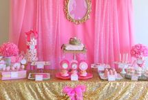 Pipers Disney princess party