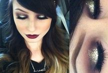 Beauty tips for Christmas and New Year Eve Parties! / Ideas for the ideal manicure, make-up and hair!