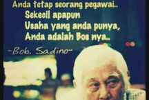 petuah uncle bob sadino