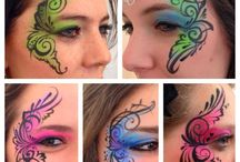 Face Painting Teenager
