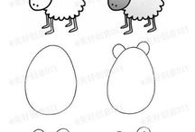 ako kreslit zvieratka