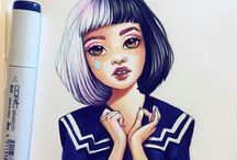 Lera Kiryakova dessins draws