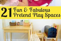 Play set-ups / Ideas for how to design spaces and equipment to maximise play.