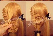 hajak és fonatok