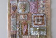 Beads, stitches, lace n ribbon / Beads - making n using; embroidery stitches; using lace for embellishment; crazy quilting ideas; ribbon flowers