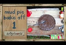 The Great Mud Pie Bake Off! Celebrating World Soil Day! / At dirtgirlworld we love dirt! So we are super excited that it's International Year of Soils, and that on Dec 5th 2015 it will be World Soil Day! So we are celebrating with the Great Mud Pie Bake Off! You can join us! Take a photo of your mud pie, Follow us on Instagram @dirtgirlworldofficial and be in the running for some awesome eco prizes!!!