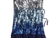 New Year's Eve blue justice dress