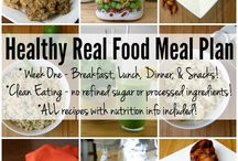 7 Day Real Food Challenge / by Jennifer Rimes C.H.N