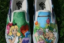 painted footwear