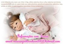Bonecas quase  reais  / Vendo bonecas  que parecem  bebês de verdade  Informações  com  Lorena  no  email meusanjinhosreborn23@hotmail.com   desconto  para  cliente  que informar  que  teve  informações com  lorena