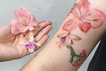 Tattoo Alstroemeria