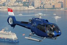 Helicopters French Riviera / Helicopters on the French Riviera. In Monaco, Cannes and St Tropez.