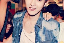 """Wu YiFan / -""""Ayoo whats uuup!"""" -""""Not my style."""""""