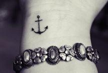 Tattooed...