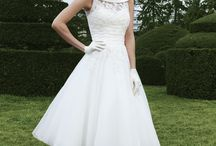 Wedding dresses - short dress