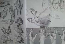 Hoe teken je handen