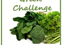 "Green Food #BloggerFoodChallenge / Make 10 ""Green Food"" recipes in 31 days. / by Written By Mama"