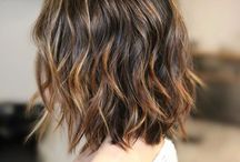 mechas balayage cabello oscuro corto