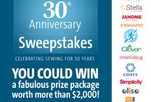 Celebrate Threads' 30th Anniversary / Threads turns 30 this year and we're celebrating by giving you the chance to win more than $2,000 worth of fabulous prizes. Enter our Sweepstakes at http://www.threadsmagazine.com/celebrate30  / by Threads Magazine