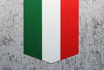 Italy flag car decals by tailribbons