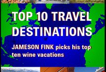 Top Ten Wine Destinations In The World / Start booking your flights for one (or more) of these top ten spots for wine.