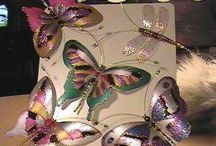Mariposas de botellas