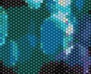 Korálky - peyote vzory