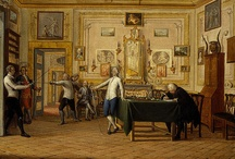 The passion for elegant interior design can also be seen in very famous paintings! / What do you think of the living room of Kenneth Mackenzie, 1st Earl of Seaforth's house in Naples, painted by Pietro Fabris and preserved in Edinburgh?