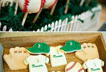 Maxs 2nd bday party / Vintage baseball