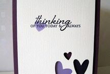 Cards - Purples and Mauves
