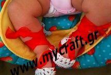 babies / handmade in a smoke and pet free environment  Δημιουργίες χειροποίητες για μικρές πριγκίπισσες και πρίγκιπες