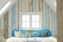 Wooden walls / muren van hout in allerlei soorten en maten