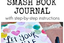 smash book and scrapbook