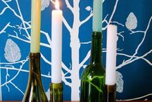 20 DIY Projects to create with Wine Bottles