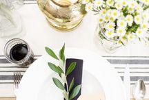 WEDDINGS // best table settings
