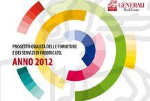 GENERALI SPA - REPORT / Cover e capitoli interni del report