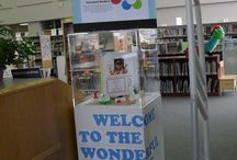 Awesome Library Displays / Staff-created displays about our programs, current events, and of course, books.