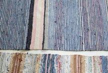 Rag rugs & other weavings
